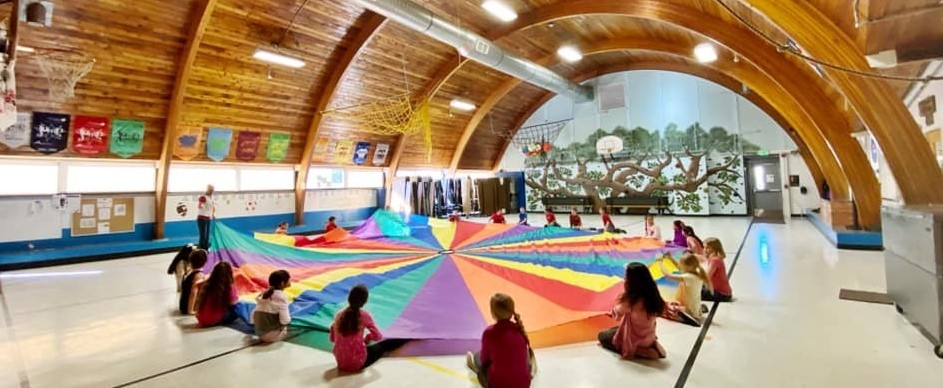 Parachute Day in PE