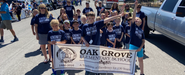 OGES students in the Hope Parade
