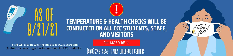 Health screenings now happening at ECC