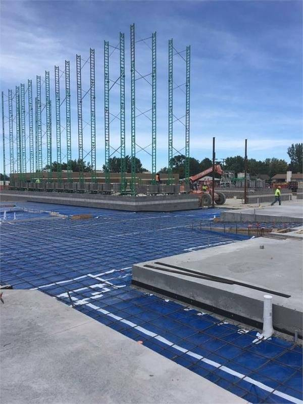 Construction on the Columbine Building